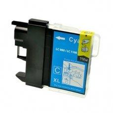 Brother LC-980C съвместима мастилница циан | print-magic.eu