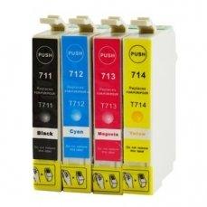 Epson T0715 съвместим икономичен комплект | print-magic.eu