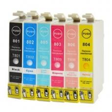 Epson T0801-T0806 съвместим икономичен комплект | print-magic.eu