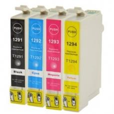Epson T1291-T1294 съвместим икономичен комплект | print-magic.eu