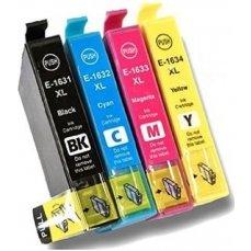 Epson T1631-T1634 съвместим икономичен комплект | print-magic.eu