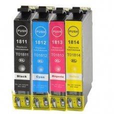 Epson T1811-4 съвместим икономичен комплект | print-magic.eu