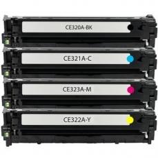 HP CE320A-CE323A съвместим икономичен комплект | print-magic.eu
