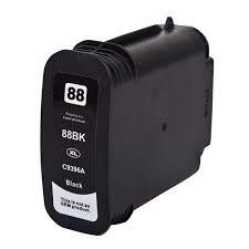 HP 88XL (C9396AE) съвместима мастилница, черен