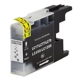 Brother LC-1280BK съвместима мастилница, черен
