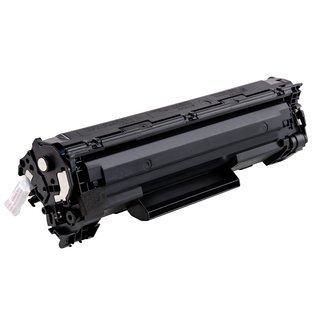 Canon CRG-712 съвместима тонер касета, черен