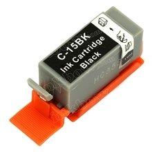 Canon BCI-15BK съвместима мастилница, черен