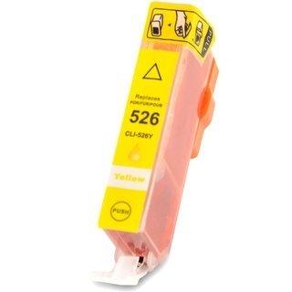 Canon CLI-526Y съвместима мастилница, жълт