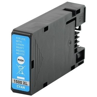 Canon PGI-1500C (9193B001) съвместима мастилница, циан