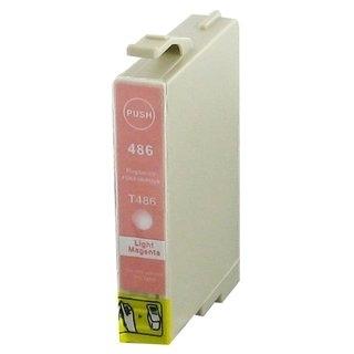 Epson T0486 съвместима мастилница, photo magenta