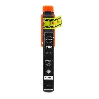 Epson 33XL (T3361) съвместима мастилница, фото черен