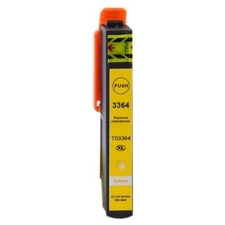 Epson 33XL (Т3364) съвместима мастилница, жълт