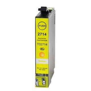 Epson 27XL (T2714) съвместима мастилница, жълт