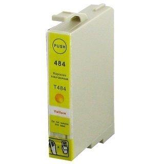 Epson T0484 съвместима мастилница, жълт