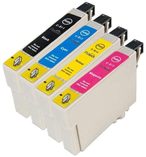 Epson T0611-T0614 съвместим икономичен комплект