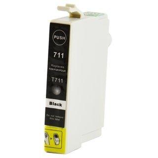 Epson T0711 съвместима мастилница, черен