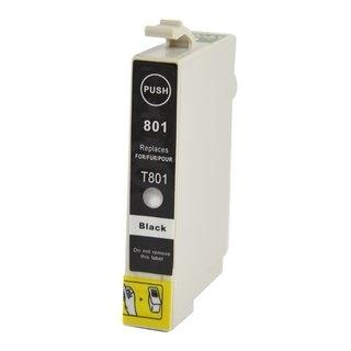 Epson T0801 съвместима мастилница, черен