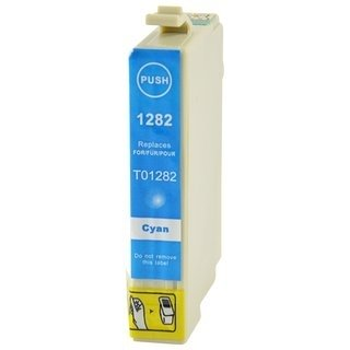 Epson T1282 съвместима мастилница, циан