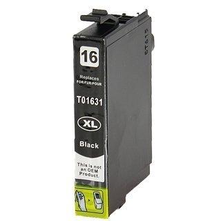 Epson 16XL (T1631) съвместима мастилница, черен