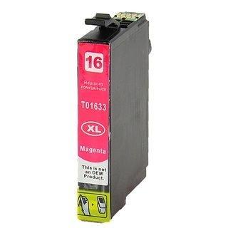 Epson 16XL (T1633) съвместима мастилница, магента
