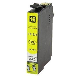 Epson 16XL (T1634) съвместима мастилница, жълт