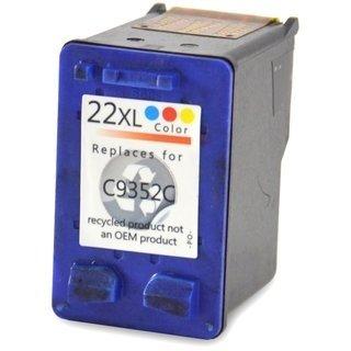 HP22 XL (C9352CE) съвместима мастилница, цветна