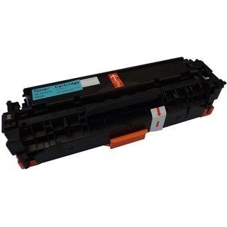 HP CC531A съвместима тонер касета, циан