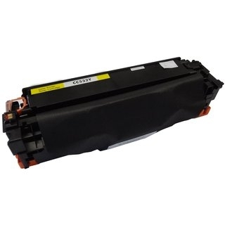 HP CC532A съвместима тонер касета, жълт