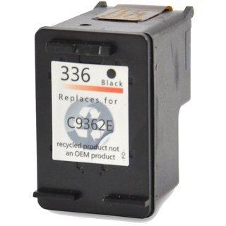 HP336 (C9362EE) съвместима мастилница, черен