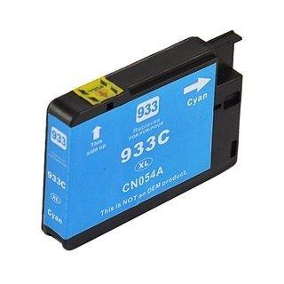 HP 933XL (CN054AE) съвместима мастилница, циан