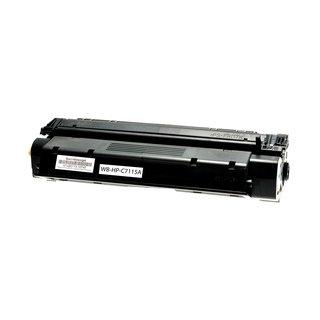 HP C7115A съвместима тонер касета, черен