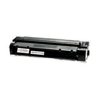 HP C7115X съвместима тонер касета, черен
