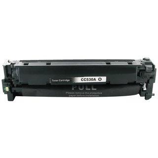 HP CC530A съвместима тонер касета, черен