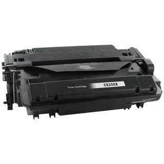 HP CE255X съвместима тонер касета, черен