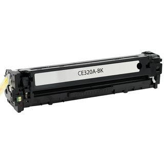 HP CE320A съвместима тонер касета, черен
