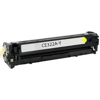 HP CE322A съвместима тонер касета, жълт