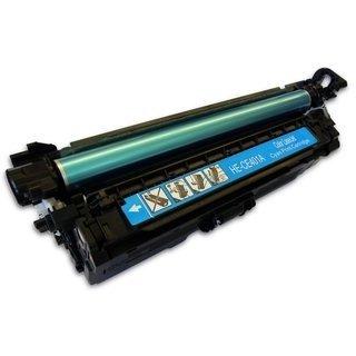 HP CE401A съвместима тонер касета, циан