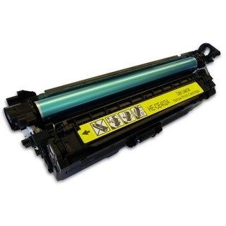 HP CE402A съвместима тонер касета, жълт