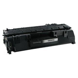 HP CE505A съвместима тонер касета, черен