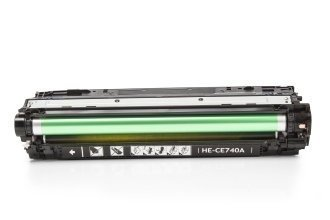 HP CE740A съвместима тонер касета, черен