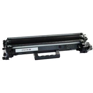 HP CF217A съвместима тонер касета, черен
