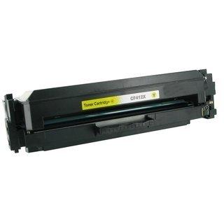 HP CF412A съвместима тонер касета, жълт