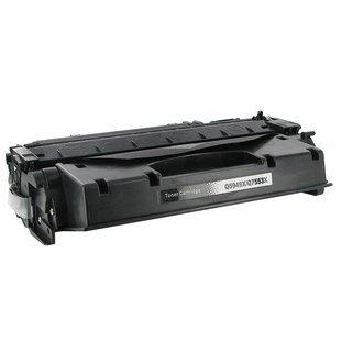 HP Q7553A съвместима тонер касета, черен