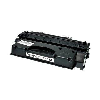 HP Q7553X съвместима тонер касета, черен