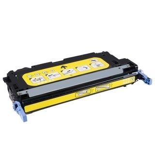 HP Q7582A съвместима тонер касета, жълт