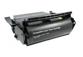 Lexmark 12A6865 съвместима тонер касета, черен