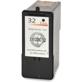 Lexmark 32 (18C0032E) съвместима мастилница, черен