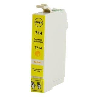 Epson T0714 съвместима мастилница, жълт