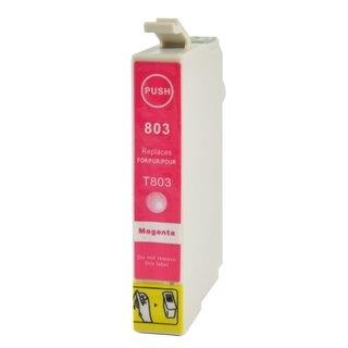 Epson T0803 съвместима мастилница, магента