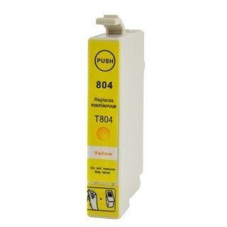 Epson T0804 съвместима мастилница, жълт